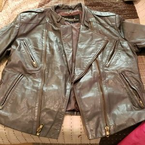 Wilsons Leather jacket Gray